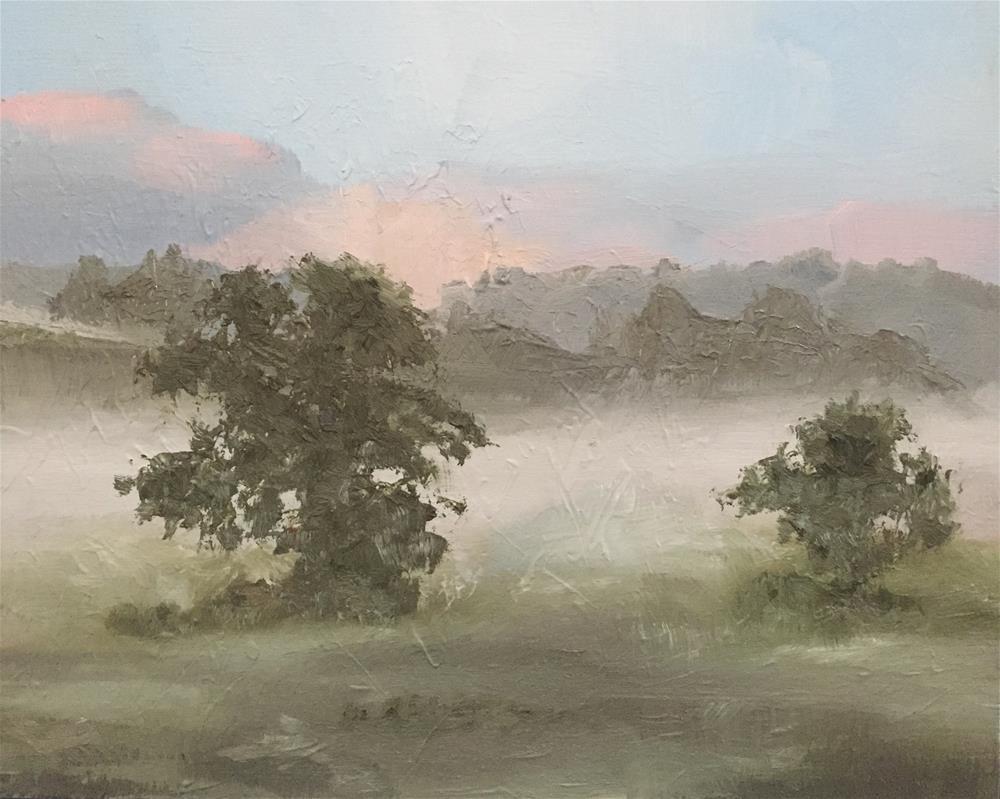"""""""Tree Challenge"""" original fine art by Gary Bruton"""