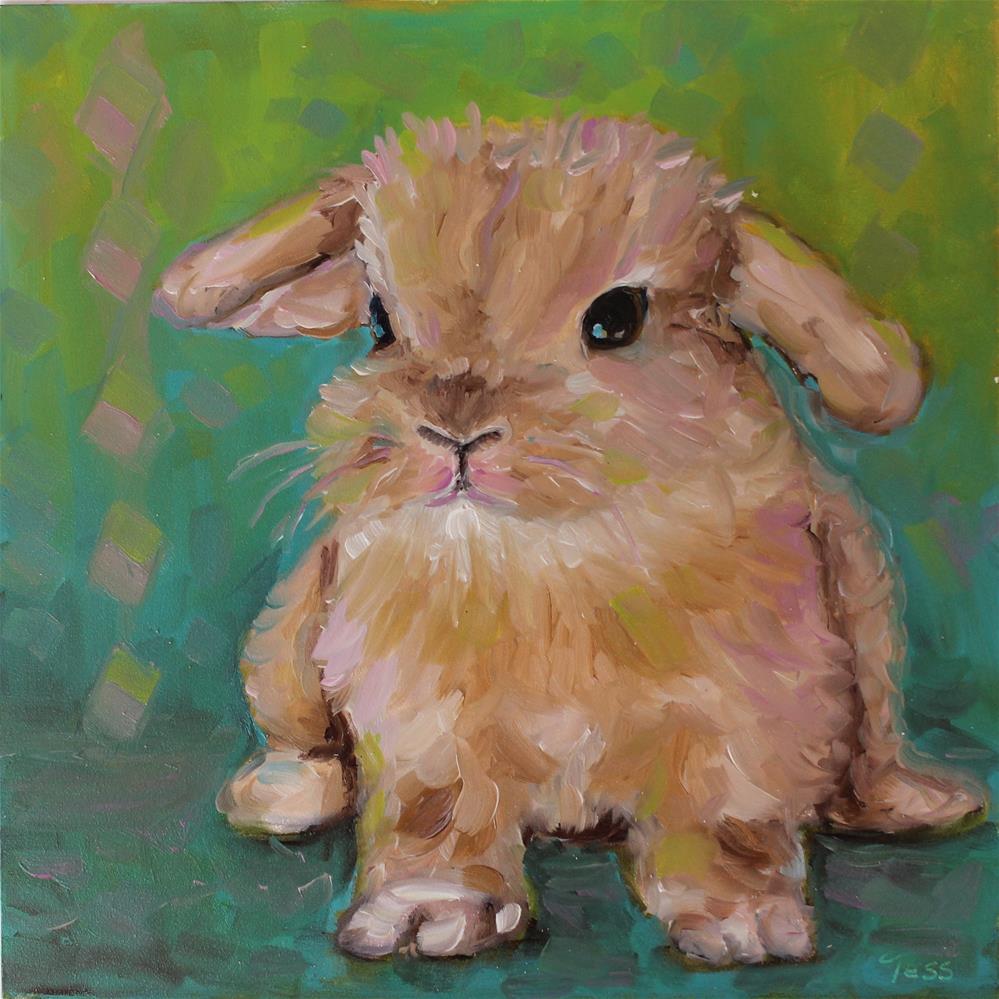 """Fluff- Black Sabbath"" original fine art by Tess Lehman"