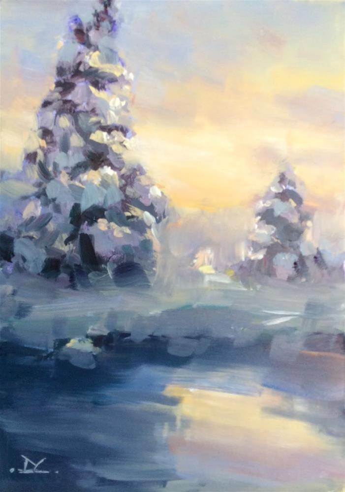 """"""" Merry Christmas """" original fine art by Doug Carter"""