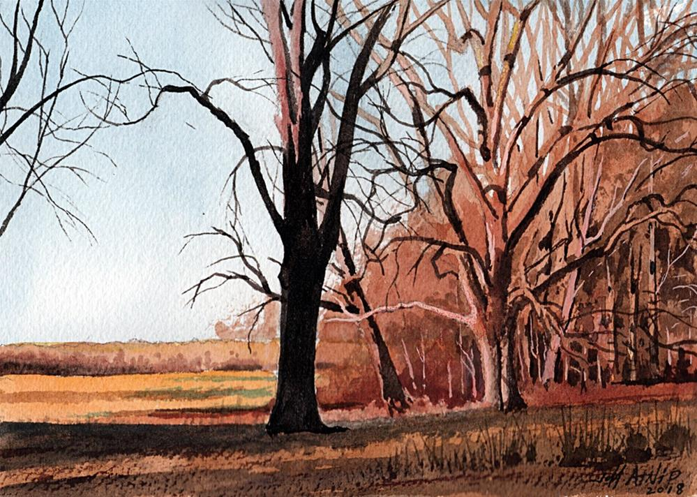 """Fallow Field"" original fine art by Jeff Atnip"