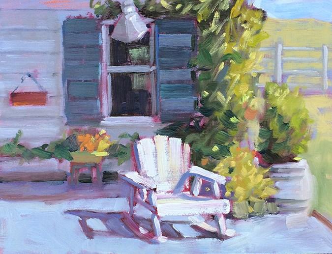 """Farm Life"" original fine art by Deborah Newman"