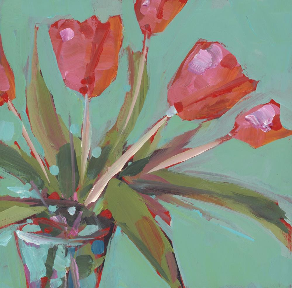 """1050: Flowerfest"" original fine art by Brian Miller"