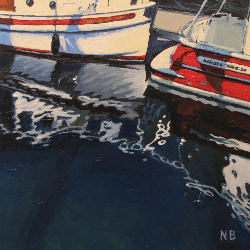 """Reflecting"" original fine art by Nora Bergman"