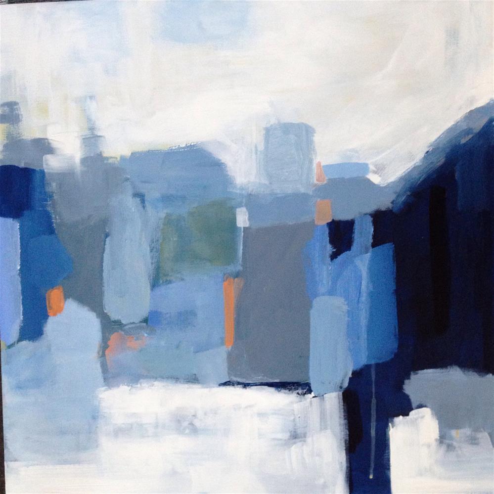 """Come January"" original fine art by Pamela Munger"