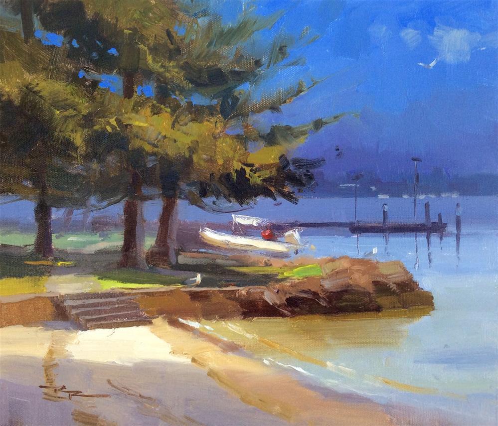 """Point Walter"" original fine art by Richard Robinson"