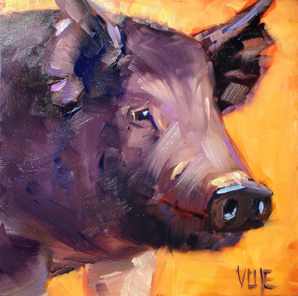 """""""251 Prince"""" original fine art by Patty Voje"""