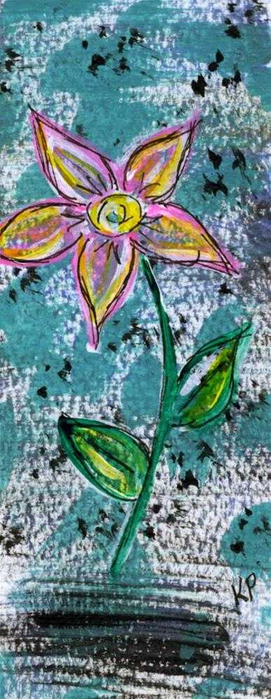 """Pretty in Pink"" original fine art by Kali Parsons"