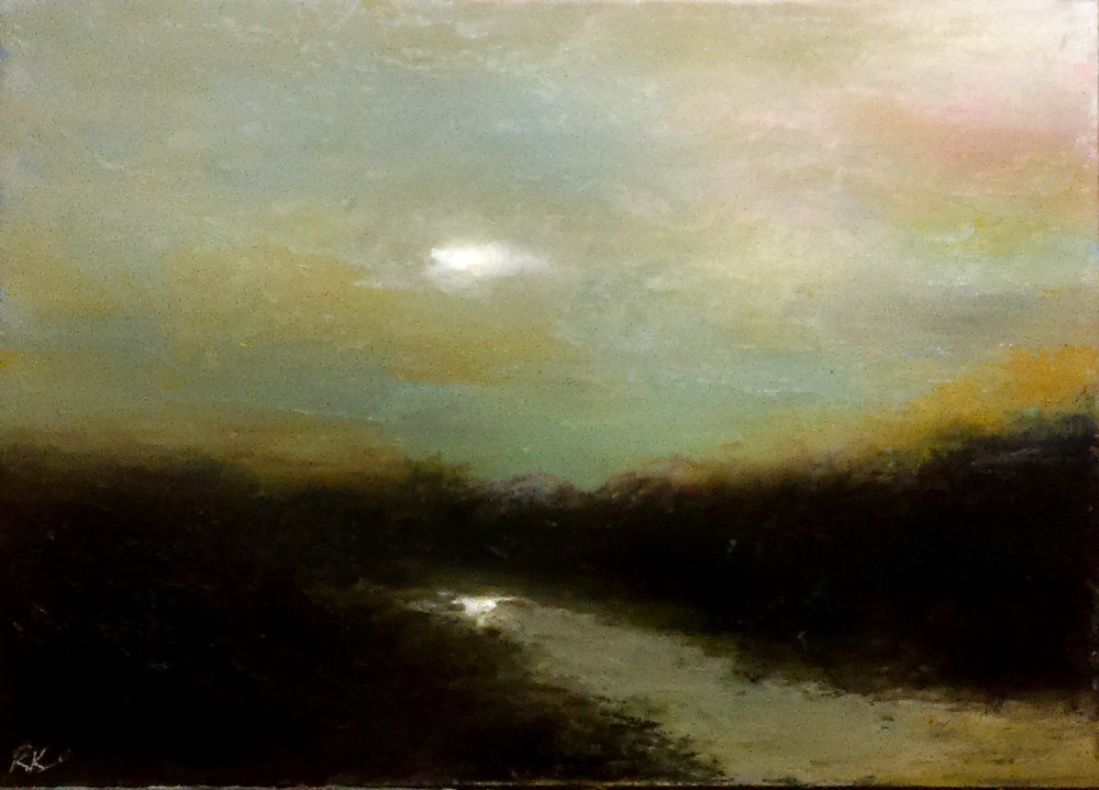 """Stillness"" original fine art by Bob Kimball"