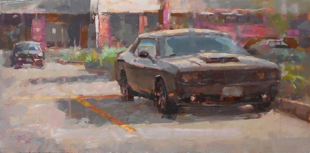 """Challenger"" original fine art by Michael Pieczonka"