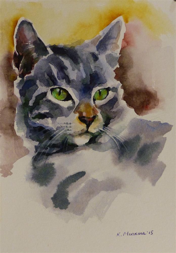"""adopt152"" original fine art by Katya Minkina"