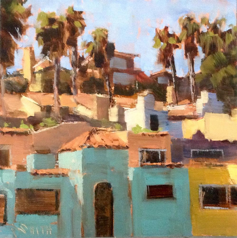 """Capitola Colors"" original fine art by Barbie Smith"