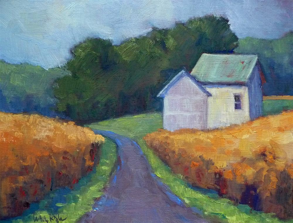 """Road in the County"" original fine art by Lisa Kyle"
