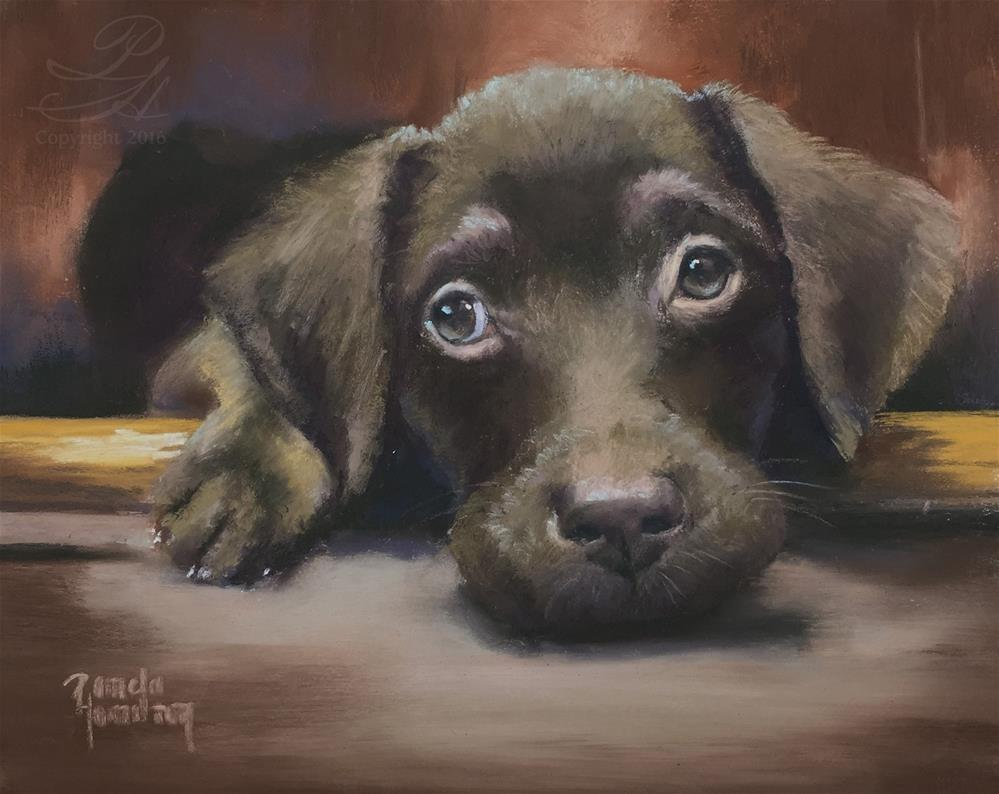 """""""Penny For Your Thoughts"""" original fine art by Pamela Hamilton"""