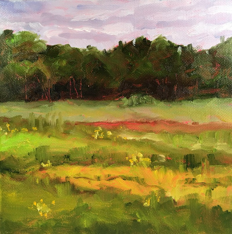 """Open Lands"" original fine art by Maria McNitt"