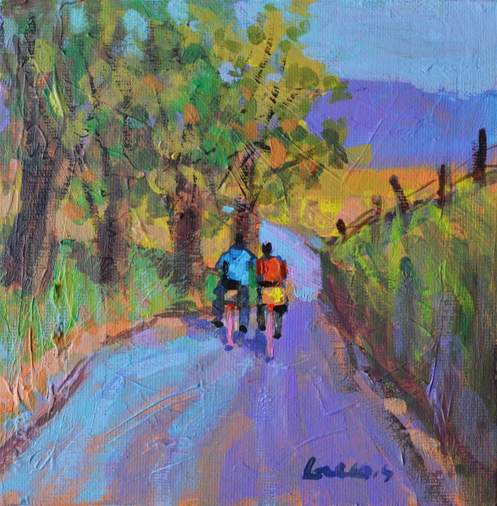 """""""Ride"""" original fine art by salvatore greco"""