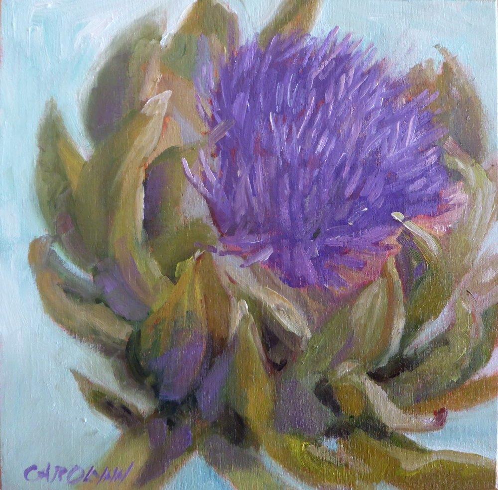 """""""It Blooms!"""" original fine art by Carolynn Doan"""