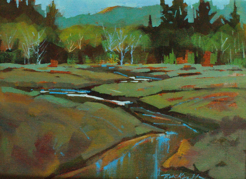 """""""Cluxewe Spring Colours"""" original fine art by Brian Buckrell"""