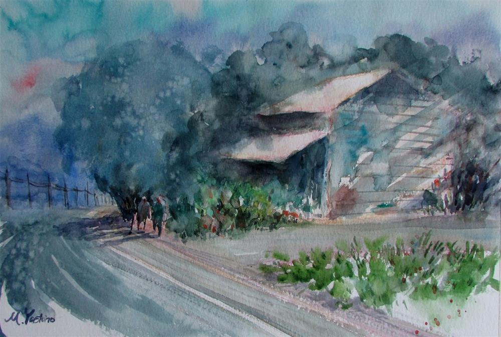"""painting Japan"" original fine art by Midori Yoshino"