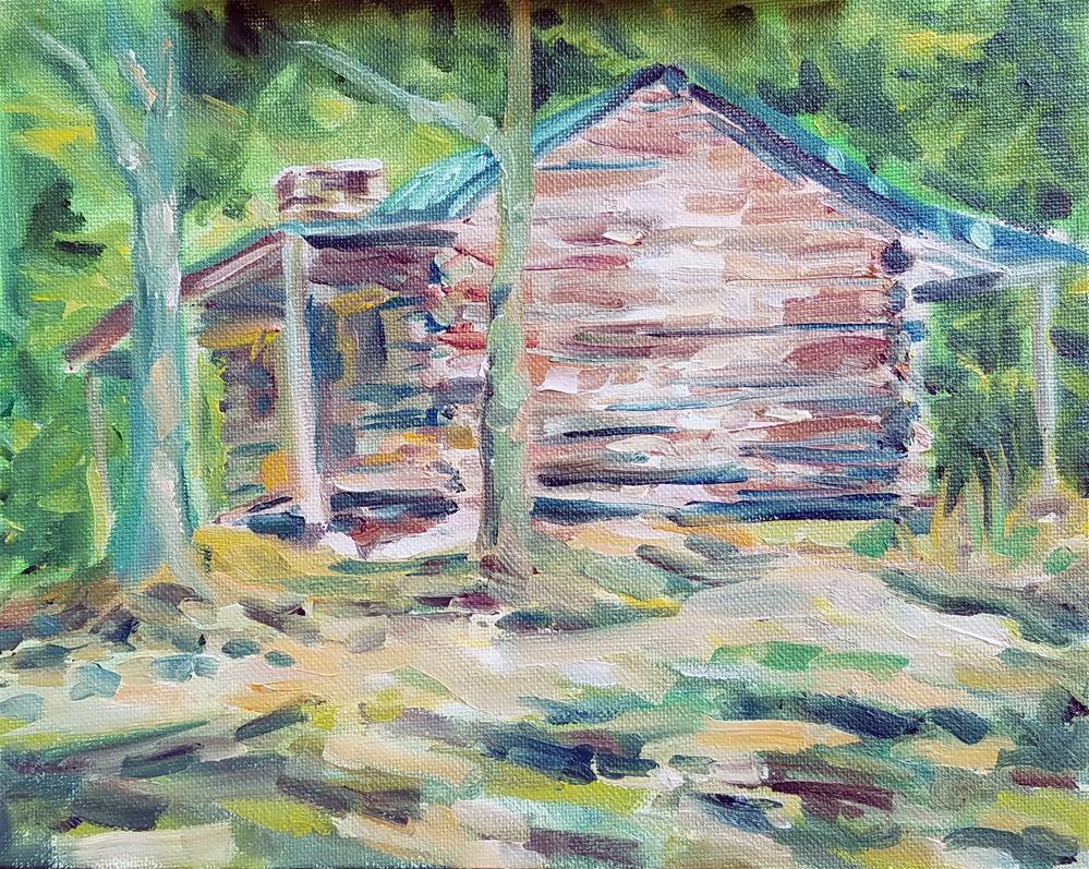 """Alabama_3"" original fine art by Gabriella DeLamater"