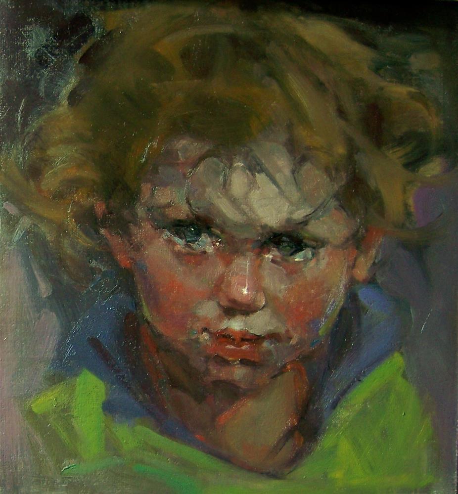 """Innocent"" original fine art by Kim Roberti"