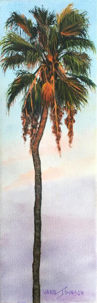 """Radiant Palm 2"" original fine art by Wendi Vann Johnson"
