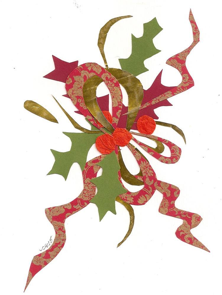 """Holiday Vignette"" original fine art by Jean Krueger"