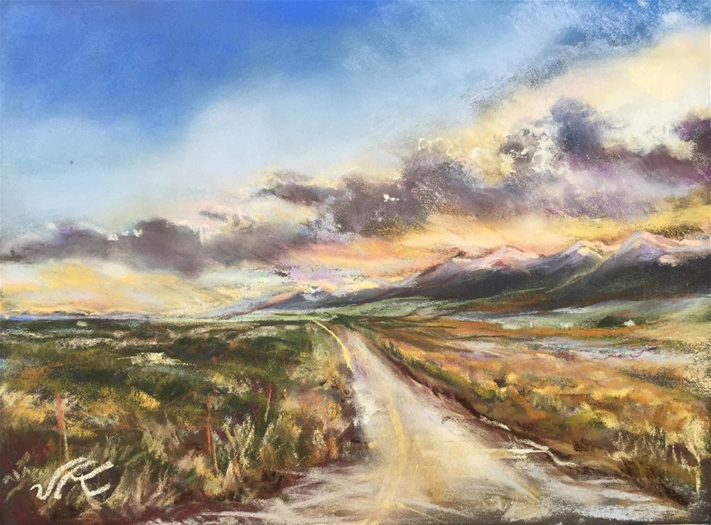 """Westcliffe Co- Looking South"" original fine art by Jean Krueger"