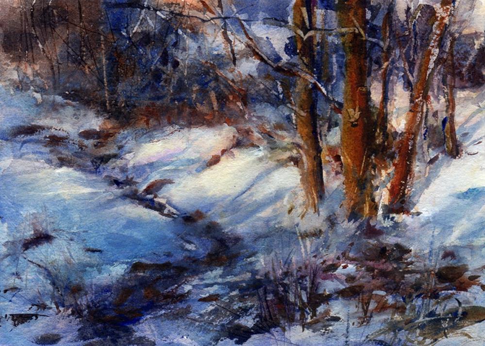 """Afternoon Shadows"" original fine art by Linda Henry"