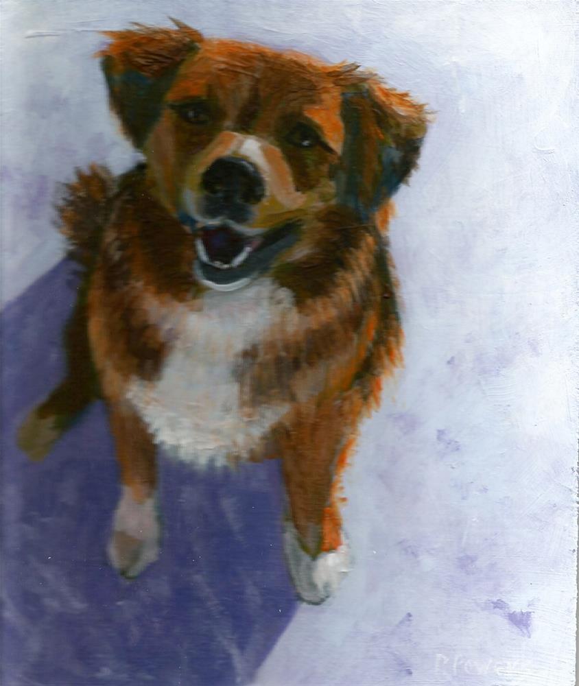 """""""Teddy"""" original fine art by Patricia J. Powers"""