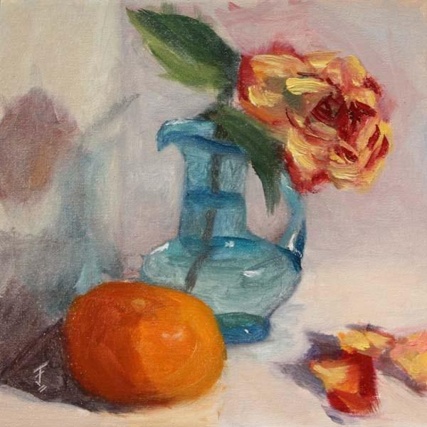 """Fading Fast"" original fine art by Jane Frederick"