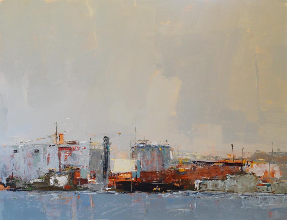 """Favonian #3 24x30 oil 2015"" original fine art by Deborah R Hill"