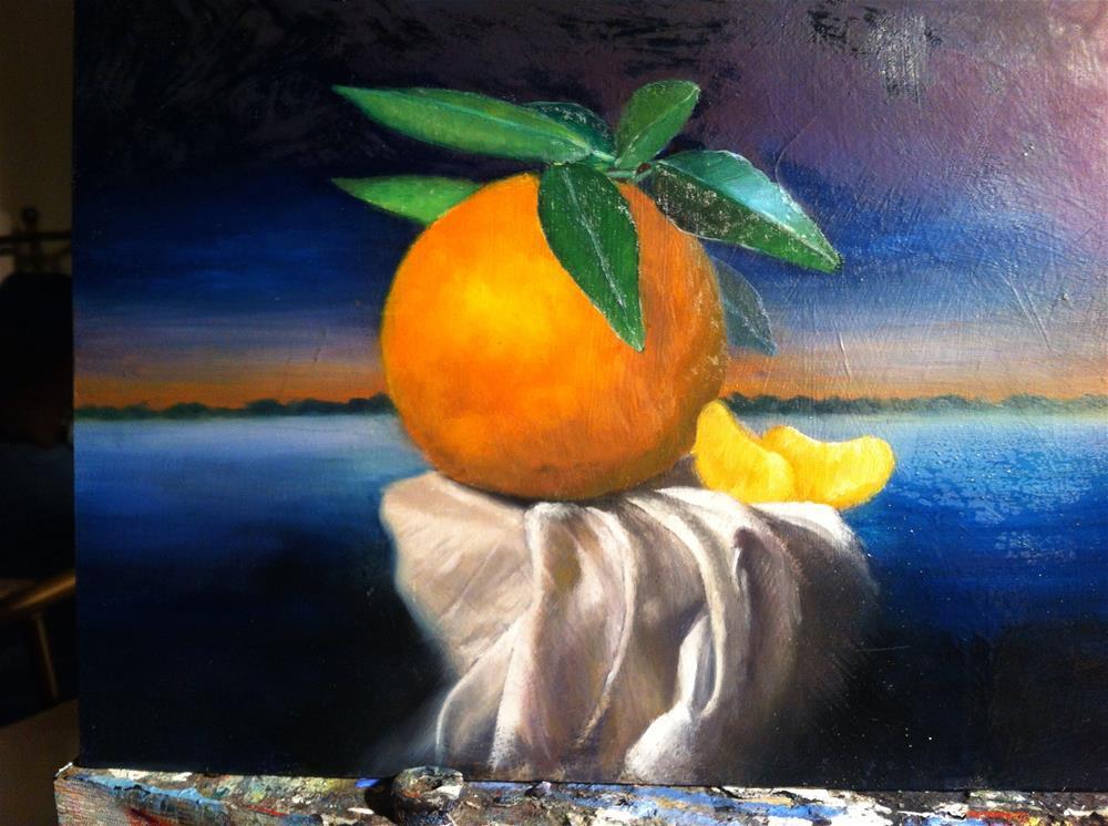 """""""Twilight – work in progress"""" original fine art by Paulo Jimenez"""