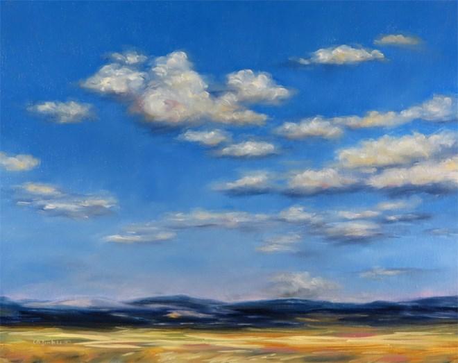 """For Spacious Skies"" original fine art by Carol Zirkle"
