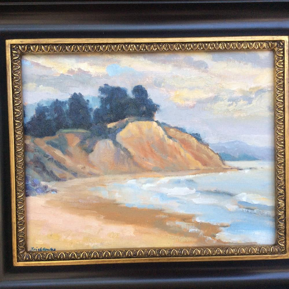 """Loon point"" original fine art by Leigh Alexandra Sparks"