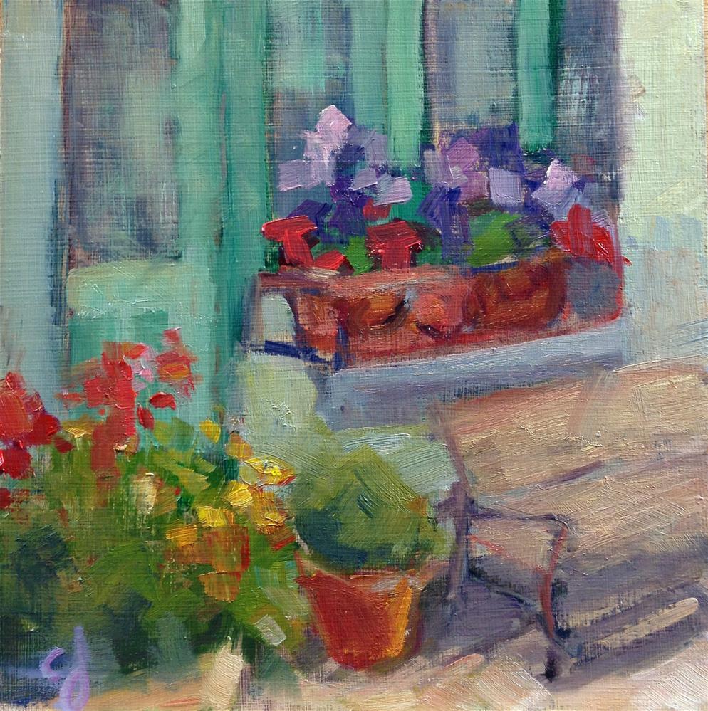 """""""Doorway of Color"""" original fine art by Carol Josefiak"""