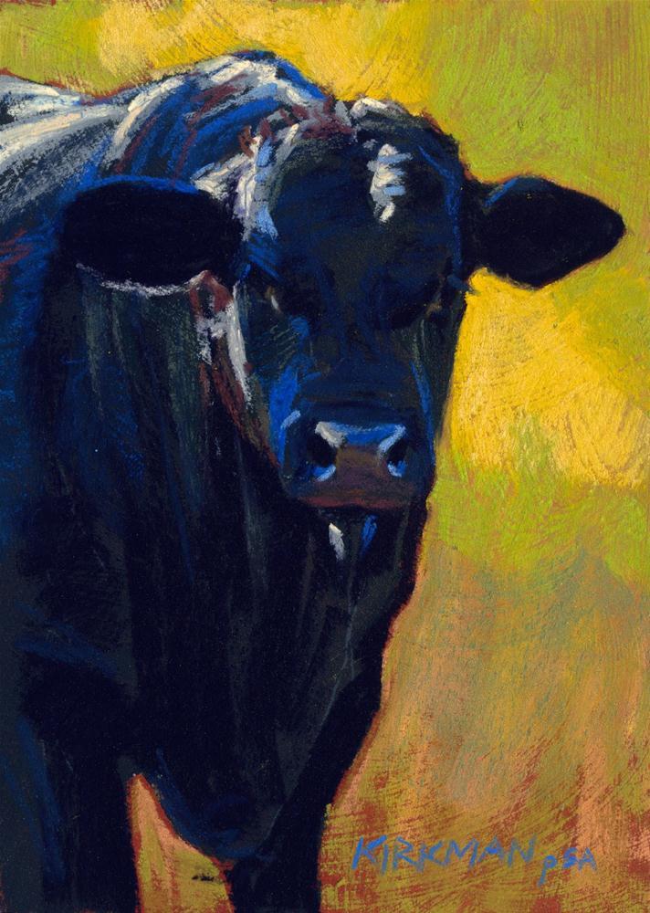 """Bruce"" original fine art by Rita Kirkman"