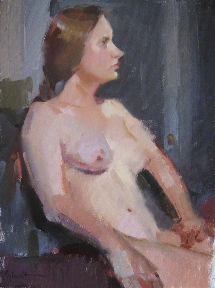 """Hannah"" original fine art by Sarah Sedwick"