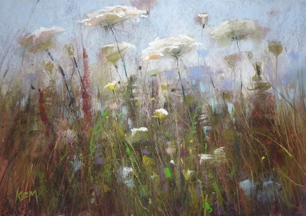 """""""Tips for Painting Grasses with Pastels"""" original fine art by Karen Margulis"""