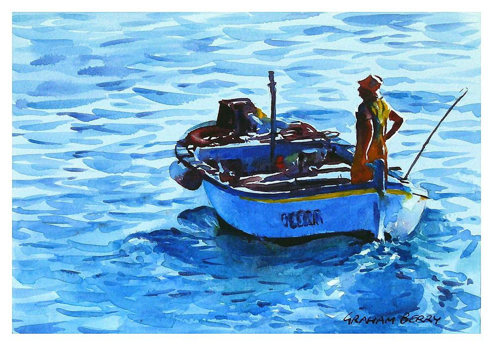 """""""Heading out to sea."""" original fine art by Graham Berry"""