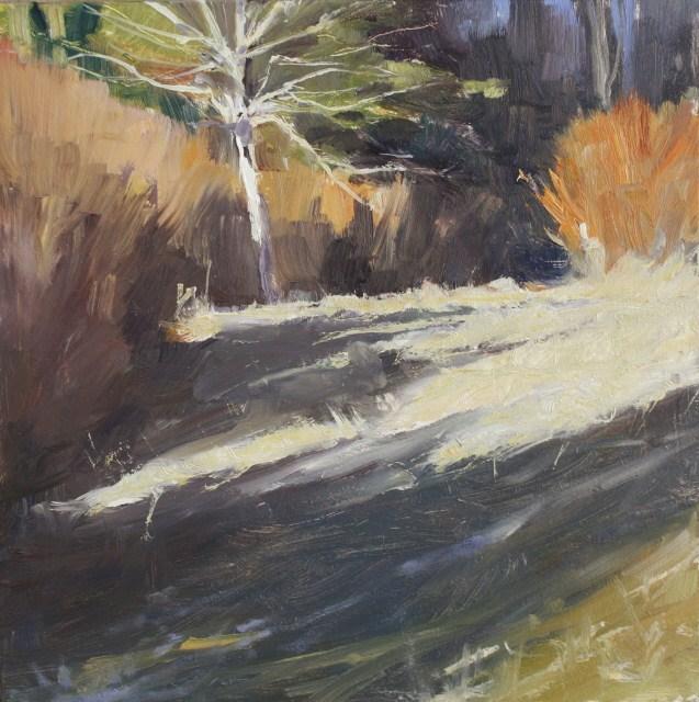 """""""Field Tree 2"""" original fine art by Robin Weiss"""