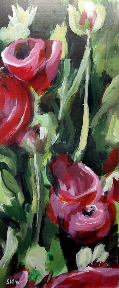 """2418 Ranunculus 2"" original fine art by Dietmar Stiller"