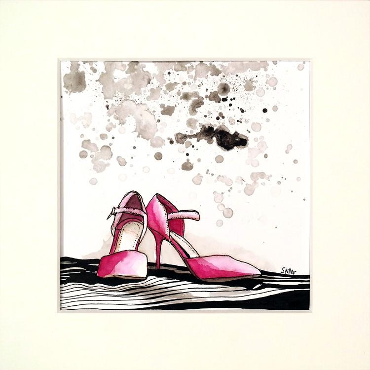 """""""3385 Pairs Two"""" original fine art by Dietmar Stiller"""