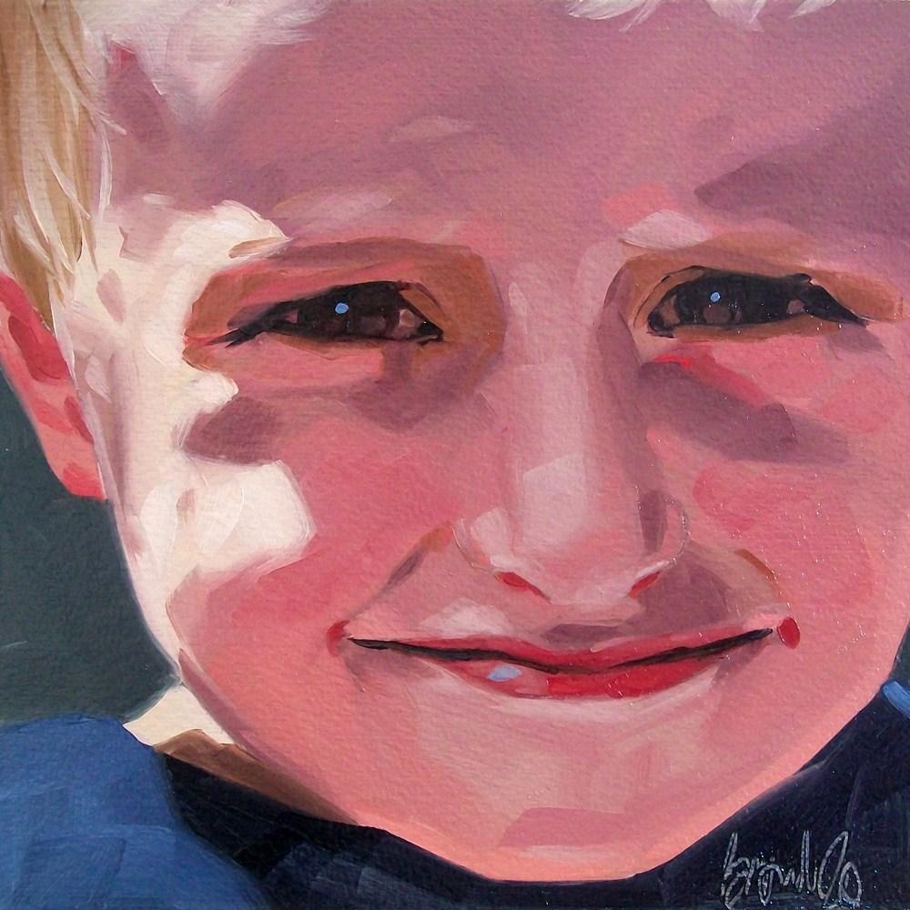 """""""Boy 3"""" original fine art by Brandi Bowman"""