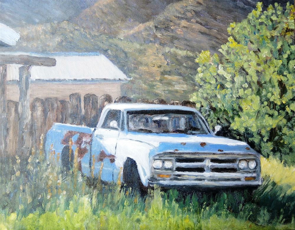 """Abandoned in Organ, NM"" original fine art by Candi Hogan"