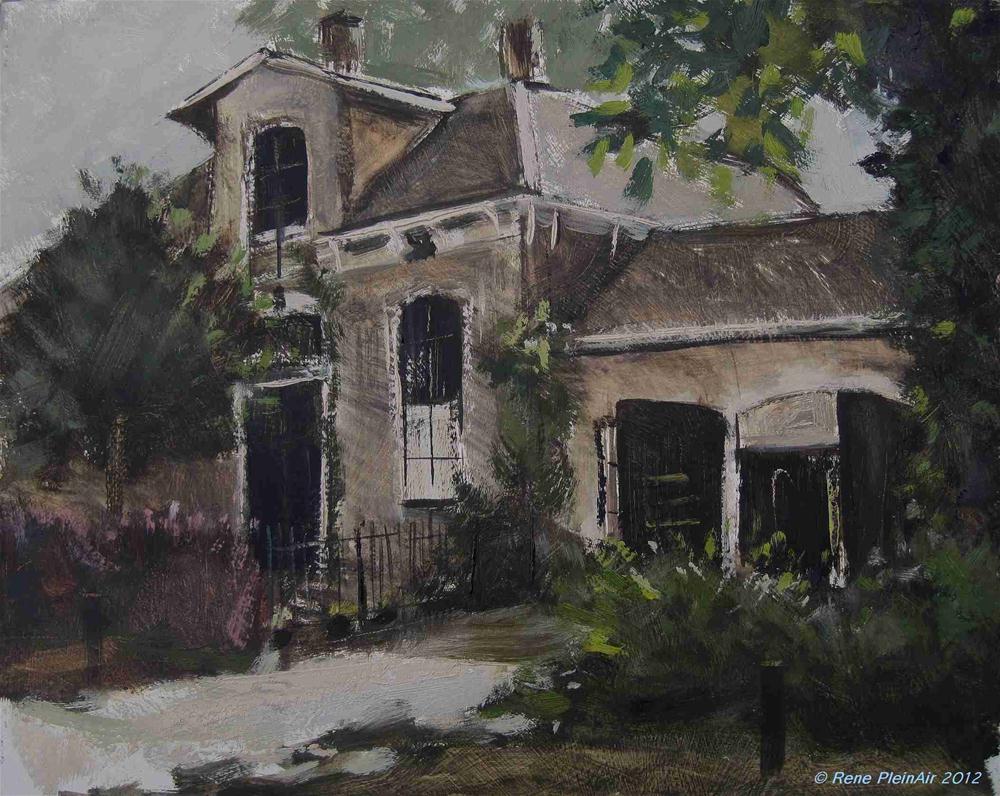 """De Pastorij. Etten, Holland."" original fine art by René PleinAir"