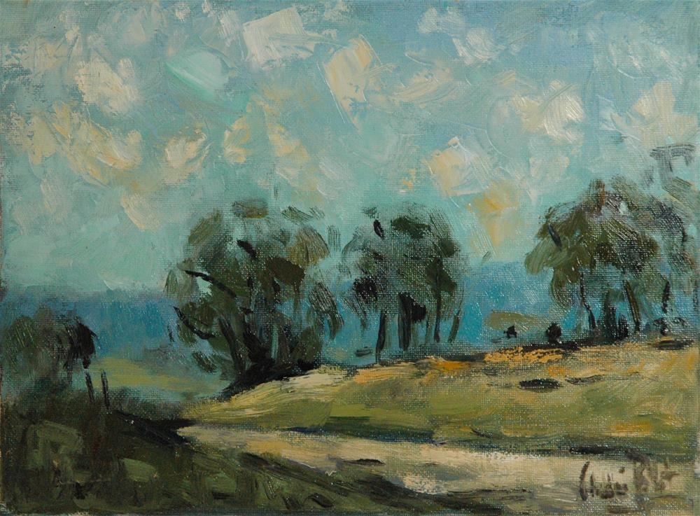 """Road and Sky in New South Wales"" original fine art by Andre Pallat"