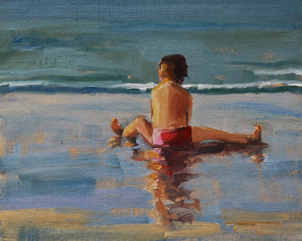 """sunny"" original fine art by Carol Carmichael"