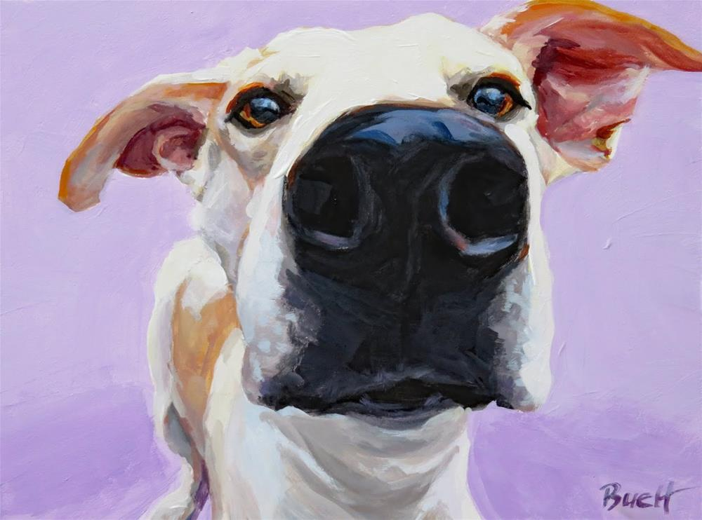 """Up Close and Personal"" original fine art by Shari Buelt"