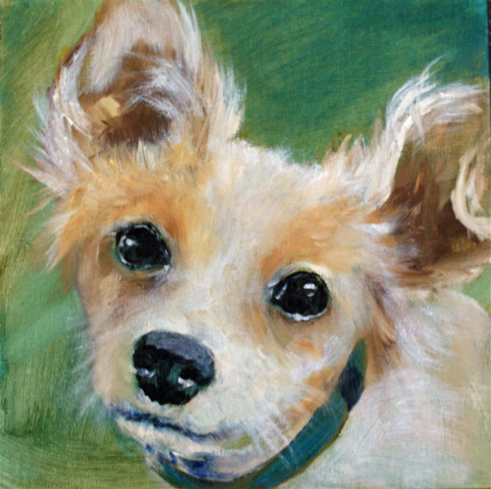 """Tinkerbell"" original fine art by Beverly Koldon"