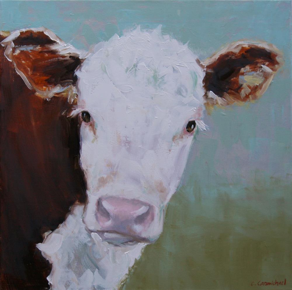 """peek a boo"" original fine art by Carol Carmichael"